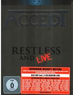 Cover for Accept - Restless And Live (Blu-ray + 2CD)