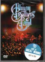 Cover for Allman Brothers Band - Live At Great Woods  (DVD)